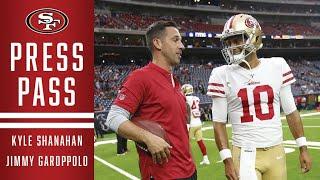 Kyle Shanahan and Jimmy Garoppolo Recap 49ers Week 3 Win in Kansas City