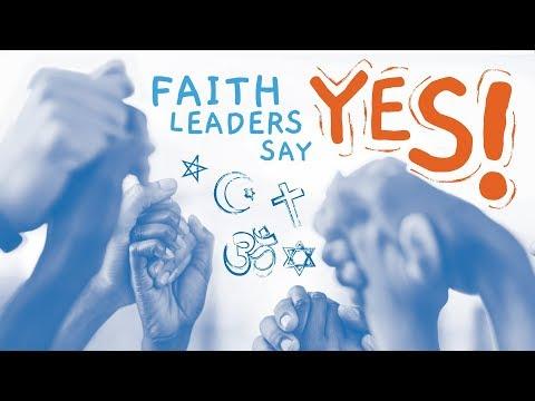 Faith Leaders Say Yes! Video thumbnail