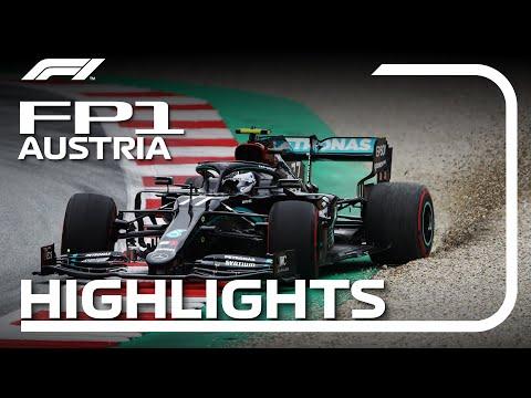 F1 2020 開幕戦オーストリア FP1ハイライト動画