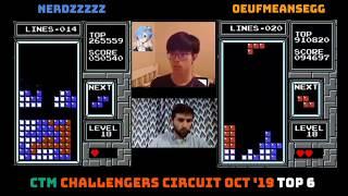 NOV 2019 CTM Classic Tetris Monthly Challenger's Circuit