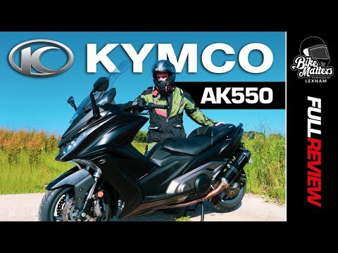 Kymco AK550 Test Ride and Review | Maxi Scooter Power!