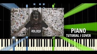 DJ Wich - Choďte šeci do p*če (ft. Strapo, Hrdlorez Boris) - Piano Tutorial / Cover - Synthesia