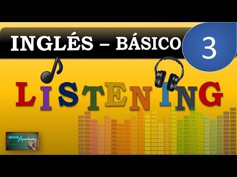 ENGLISH LISTENING PRACTICE # 3 - Mensajes de voz / buzón de voz  (Nivel Principiante)