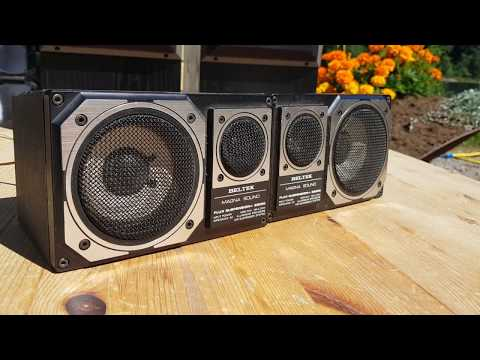 Beltek Magna Sound - retro car audio speakers