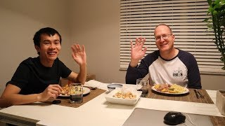 Bữa Cơm Việt Xứ Mỹ [3] Đậu Hủ Chiên chấm nước tương
