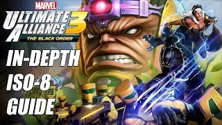 In-depth ISO-8 Guide - Marvel Ultimate Alliance 3 (MUA3)