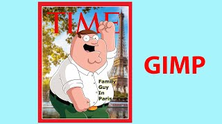 Create Your Own Time Magazine Cover With GIMP