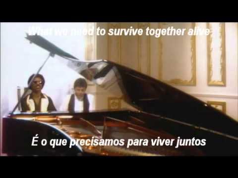 Paul McCartney e Stevie Wonder em uma linda canção