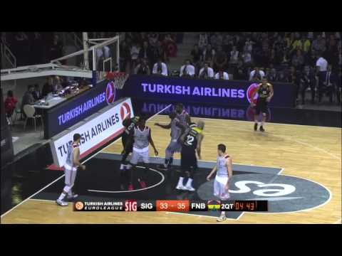 Highlights: RS Round 2, Strasbourg 91-70 Fenerbahce Istanbul