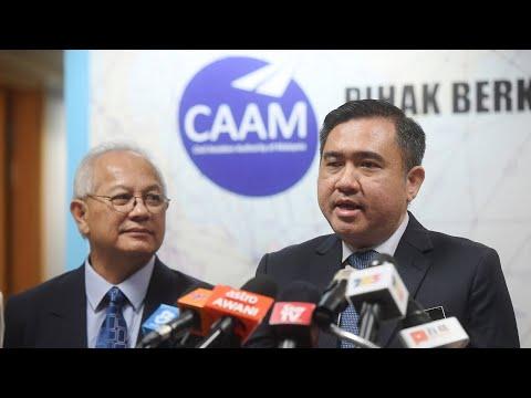 Sidang media Menteri Pengangkutan, mengenai Penyenaraian (CAAM) kepada Pengawal Selia Kategori 2