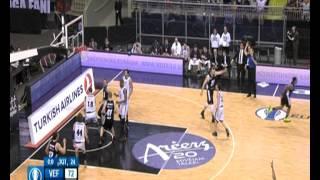 VEF Rīga - BILBAO Basket (99-76) Eurocup