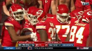 Kareem Hunt Unbelieveable Hurdle & Touchdown Run | NFL Highlights