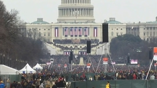 Visitors on National Mall React to Speech