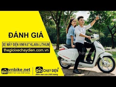 Đánh giá xe máy điện VinFast Klara Lithium