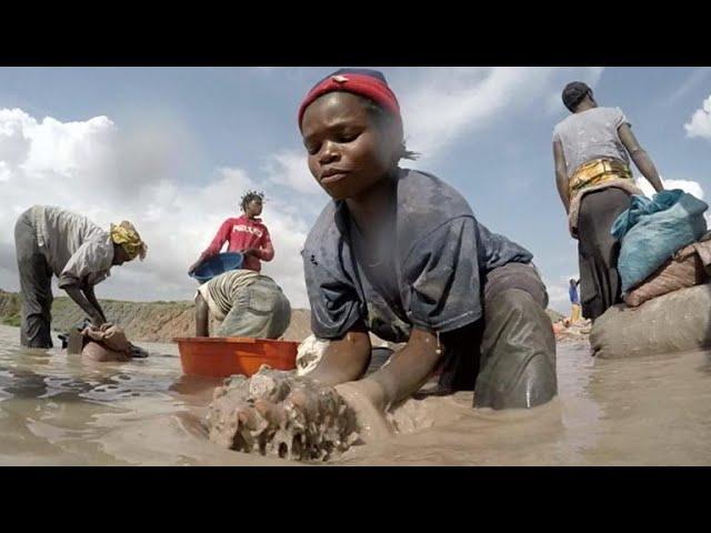 CBS News finds children mining cobalt in Democratic Republic of Congo
