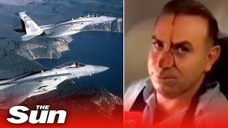 Passengers Scream In Panic As US F-15 Fighter Jet Comes Within Metres Of Iranian Charter Plane