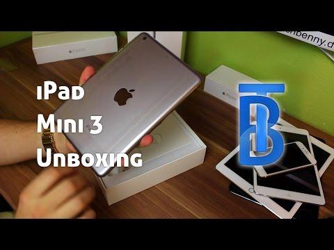 Unboxing & Erster Eindruck: Apple iPad mini 3 Spacegrau 16GB [German/Deutsch]