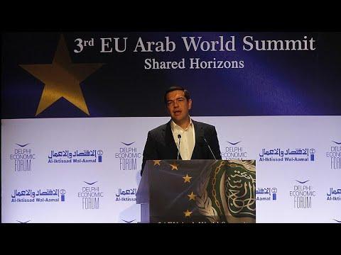 Αλ.Τσίπρας: «Η Ελλάδα εξέρχεται από μια πολυετή κρίση, πιο αισιόδοξη και πιο δυνατή»…