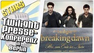 "Сумерки-Twilight, ""Breaking Dawn - Teil 2"": Die Pressekonferenz in Berlin [Komplett]"