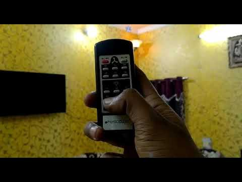 4 Light And 1 Fan Remote Control