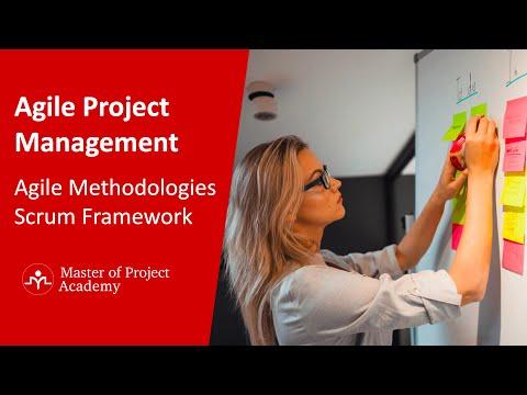 Agile Project Management - Agile Methodologies & Scrum for Beginners