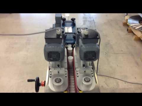 Flaschenwender / Teilewender mit Kunststoffketten-Kettenförderer / Gliederkettenförderer