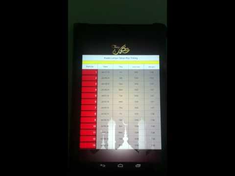 Video of Ramadan Timings Calendar 2015