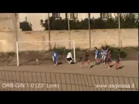 Preview video DELFINI ROSSOBLU-GINOSA 2-2 A Pulsano il Ginosa sfiora la quinta vittoria esterna consecutiva