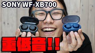 【実機レビュー】SONY の重低音を完全ワイヤレスでも楽しめる!WF-XB700 を聴いてみた!