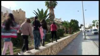 preview picture of video 'Visite remparts et rues Sousse, Tunisie'