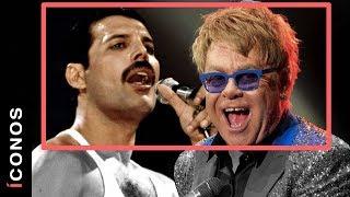 La linda amistad de Freddie Mercury y Sir Elton John