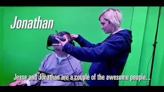 Quadriplegics use Virtual Reality and Beat The Game!