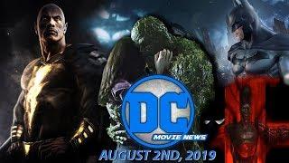 DC Movie News: Black Adam Filming Date & Unmade Batfleck Film Plot Details Revealed