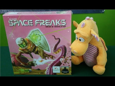 Space Freaks - Unboxing