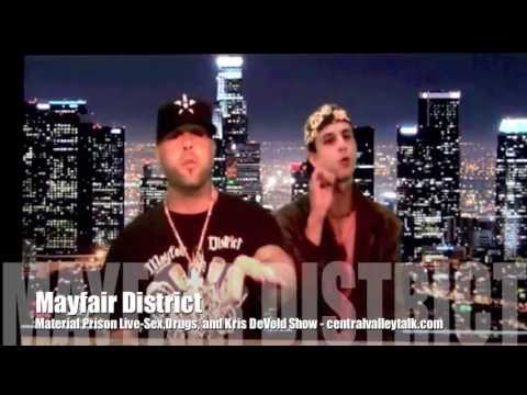 Mayfair District live on the 'Sex, Drugs, and Kris DeVold Show'- 'Material Prison'