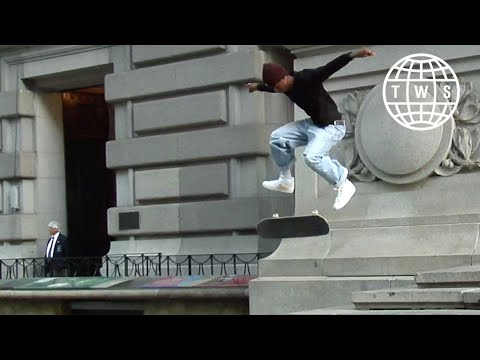 preview image for Carl Aikens, CWC Part   NYC Skateboarding