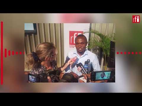 Vital Mugisho, winner of RFI's Dupont-Verlon award