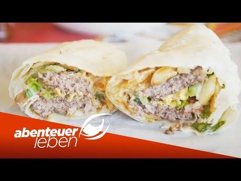 Burger im Burrito? Neuste Foodtrends aus New York unter der Lupe | Abenteuer Leben | kabel eins