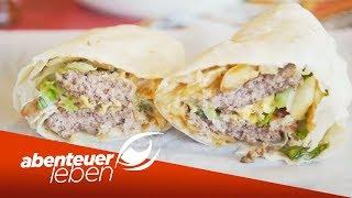 Burger im Burrito? Neuste Foodtrends aus New York unter der Lupe   Abenteuer Leben   kabel eins