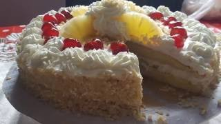 recette gâteau d'anniversaire économique  (pas cher )