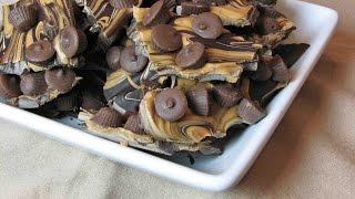 Chocolate Peanut Butter Cup Bark – Lynn's Recipes