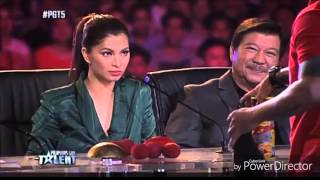 Pilipinas Got Talent and America's Got Talent Auditions - Geffrey Delos Reyes and Smoothini