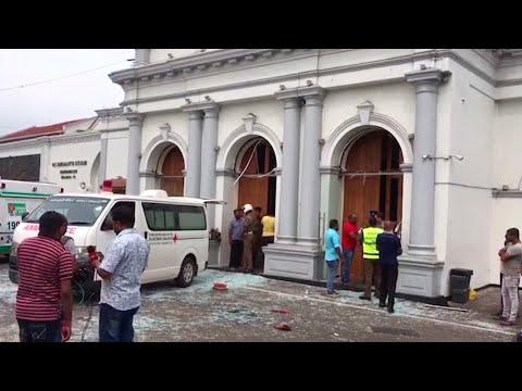 Ledakan Bom di Sri Lanka, Data Sementara 137 Orang Meninggal