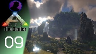 Let's Play ARK Survival Evolved - The Center - Ep. 9 - All The Dinos & A Shark!