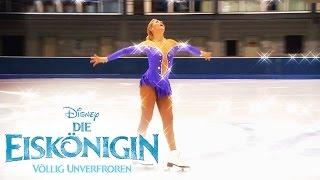 Die Eiskönigin - Eislaufen macht Spass! mit Tanja Szewczenko | Disney HD