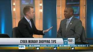 Martin A. Smith Discusses Cyber Monday Online Shopping on News Channel 8