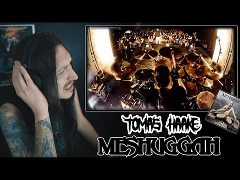 Black Metal Drummer Reacts :   TOMAS HAAKE   Meshuggah - Bleed