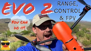 EVO 2 Range Control and FPV Quality Test - Best Drone of 2020