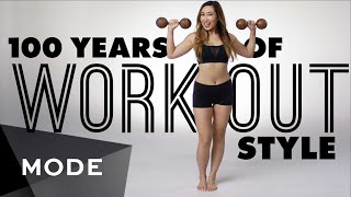 100 Years of Fashion: Workout Style  ★ Mode.com