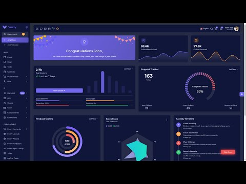 Top 5+ Free React.js Admin Dashboard Templates  you must use for 2021